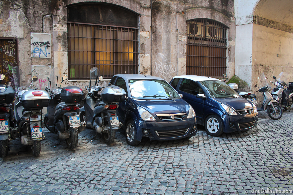 Scooters and Aixam in Rome joyDellaVita