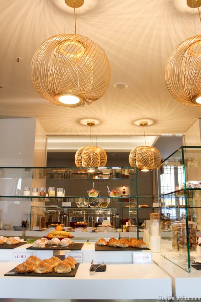 Breakfast nh Collection Hotel Cinquecento Rome JoyDellaVita