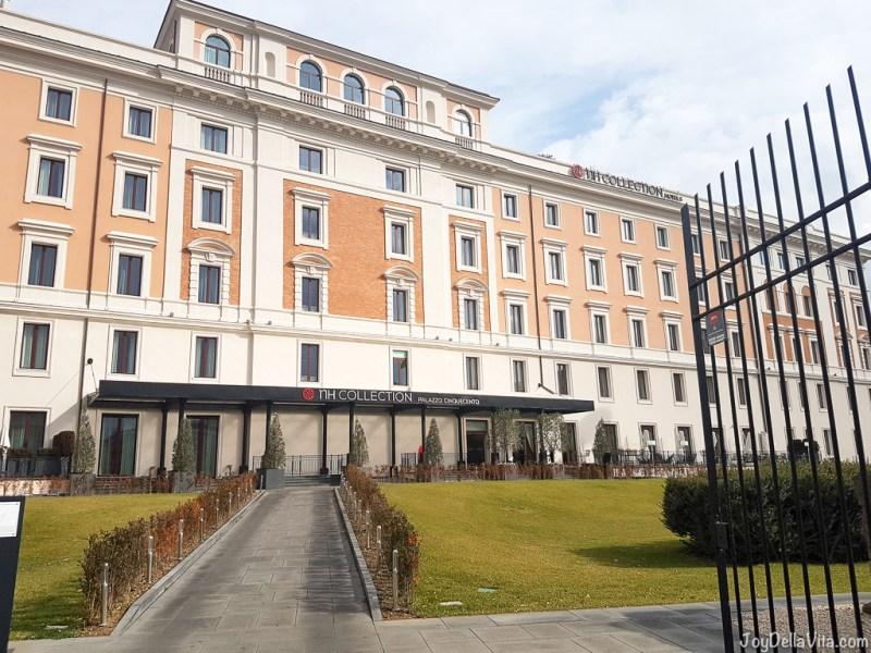 nh Collection Hotel Palazzo Cinquecento Rome JoyDellaVita