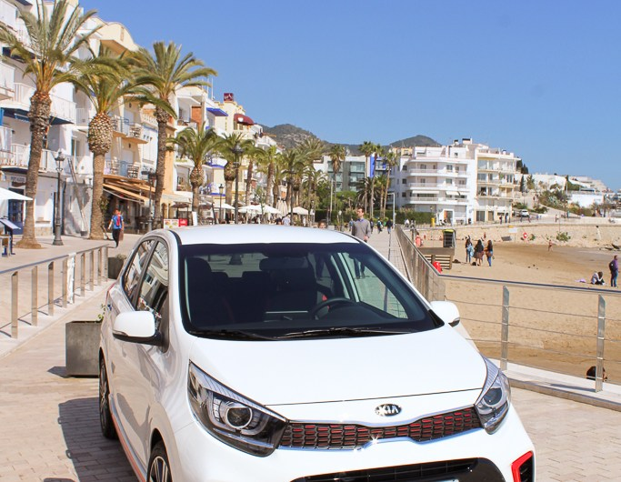 Day Trip Roadtrip from Barcelona with a Kia Picanto GT-Line – Sitges & Vilanova i la Geltrú