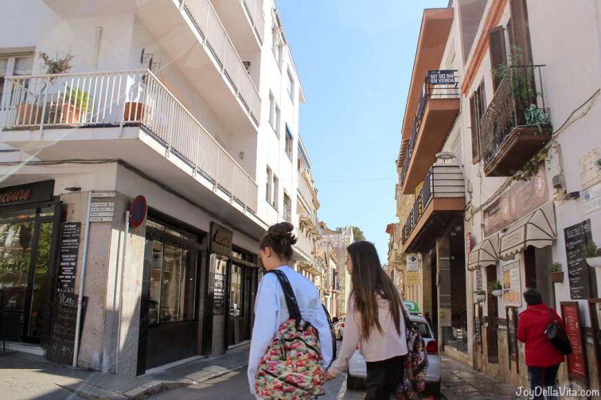 Roadtrip Barcelona Kia Picanto Sitges Vilanova JoyDellaVita