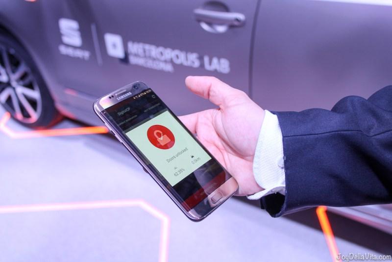 SEAT eMii Metropolis Lab Barcelona electric car sharing JoyDellaVita