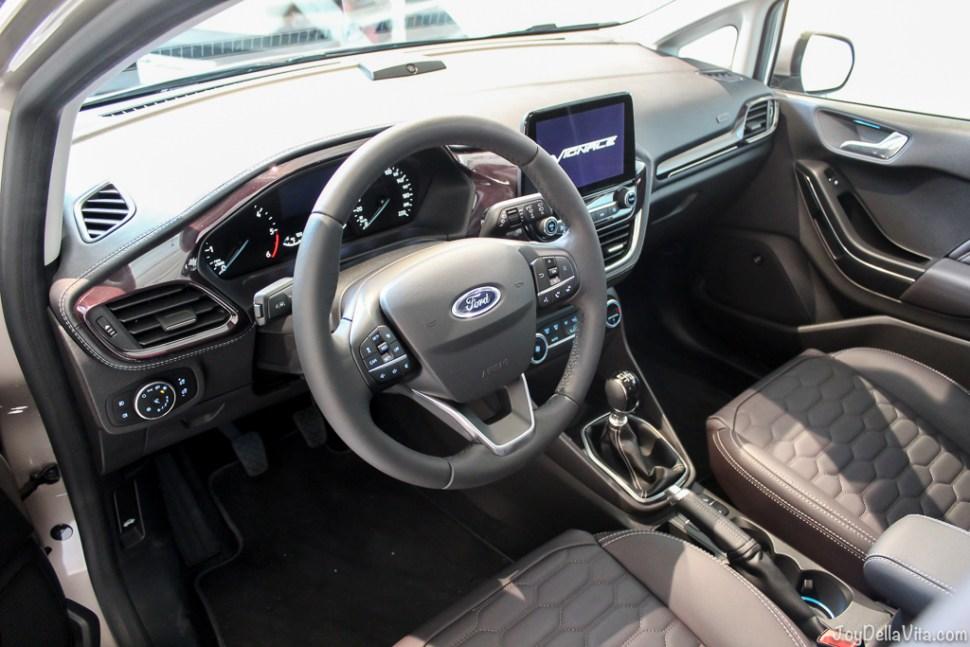 2017 Ford Fiesta Vignale Interior Design JoyDellaVita