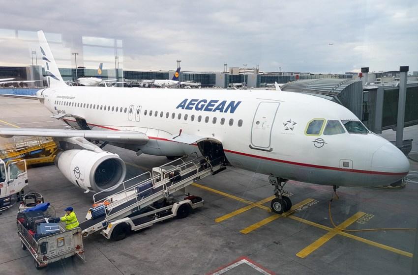Aegean Airlines Review: Flight from Frankfurt to Heraklion/ Crete