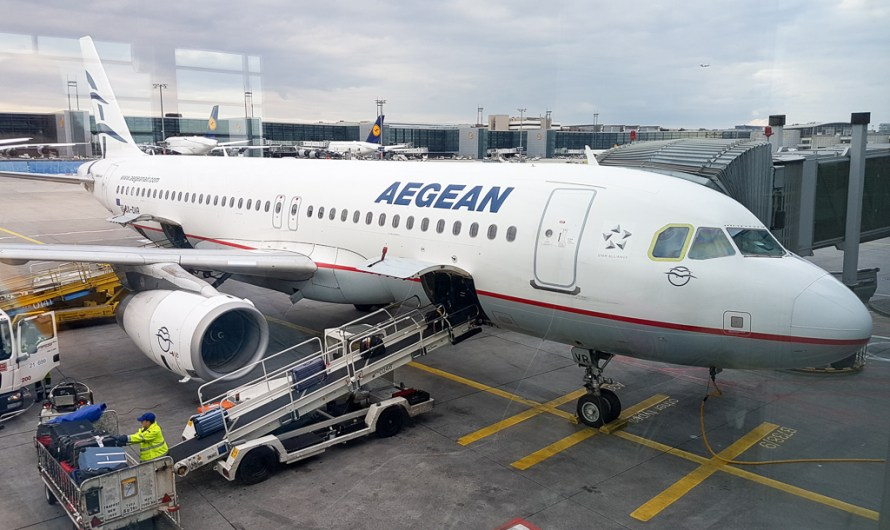 Aegean Airlines Review: Flight from Frankfurt to Heraklion/ Crete