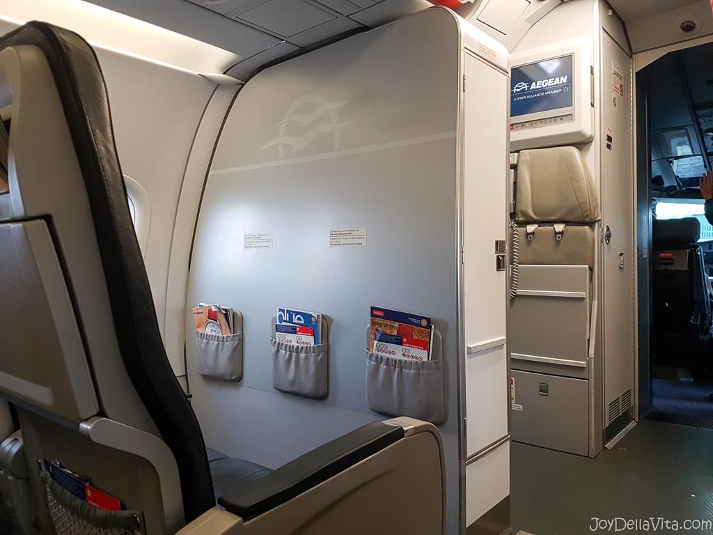 Aegean Airline Review Flight Frankfurt Heraklion Crete JoyDellaVita