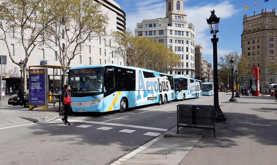 Aerobus Barcelona – Bus from the Airport to the City Centre
