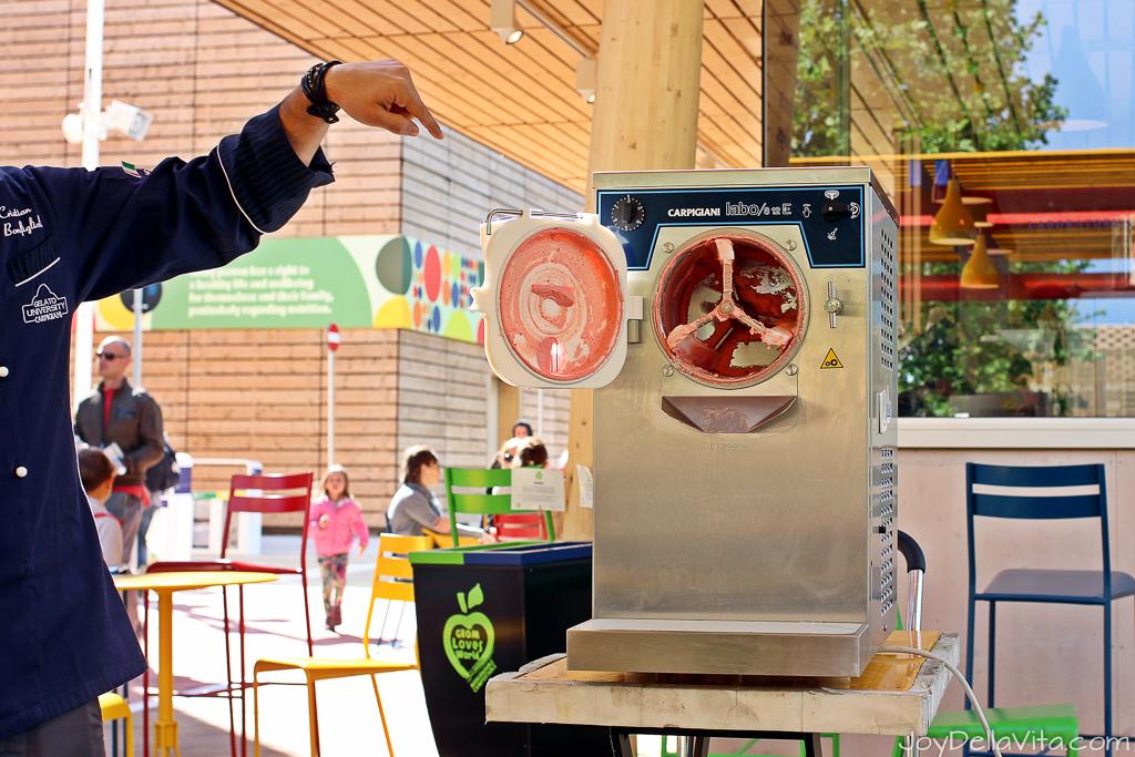 Gelato School Carpigiani Gelato University Milan JoyDellaVita