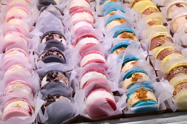 Ice Cream Macaron Sandwich MIMA Barcelona Mercado de La Boqueria JoyDellaVita