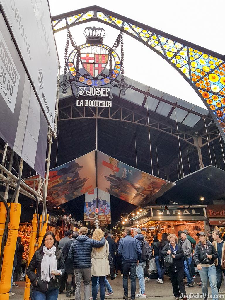 La Boqueria Market Rambla Barcelona Travelblog JoyDellaVita