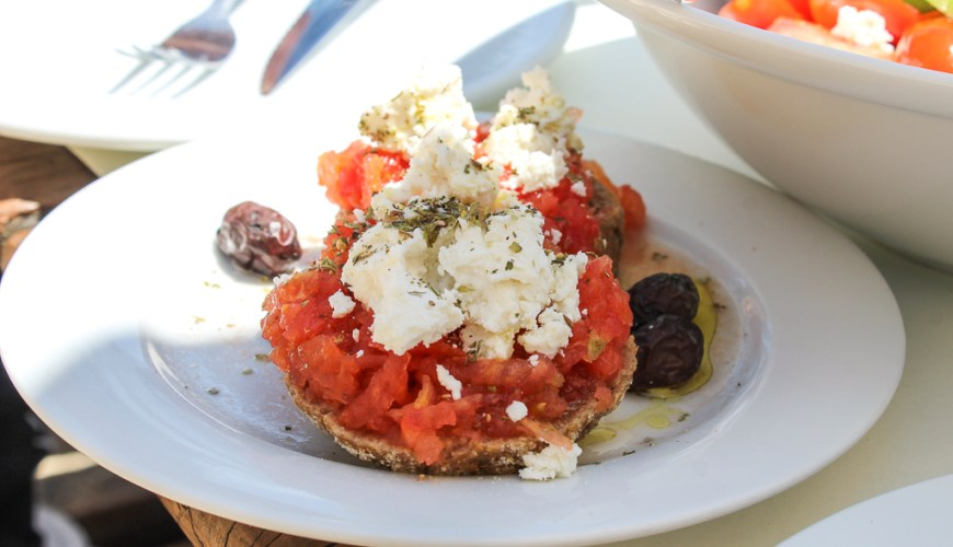 Recipe Dakos Crete Greece Travelblog JoyDellaVita
