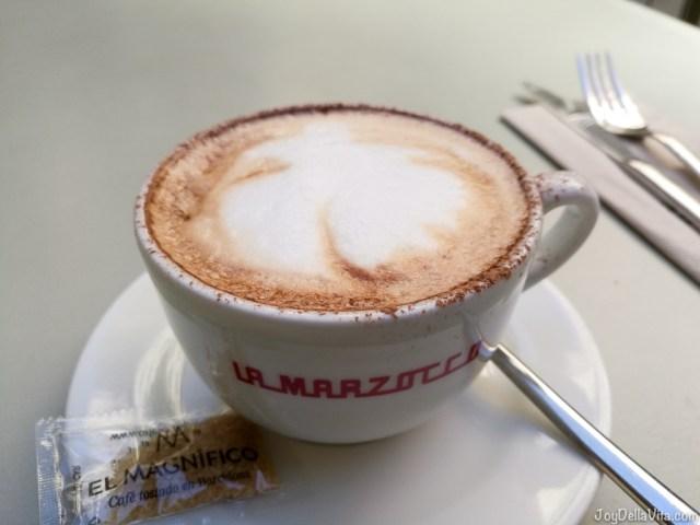 cappuccino federal cafe barcelona JoydellaVita
