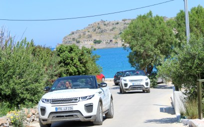 Land Rover Experience Greece Tour 2: Mountains & Sea – from Lassithi Plateau to Elounda