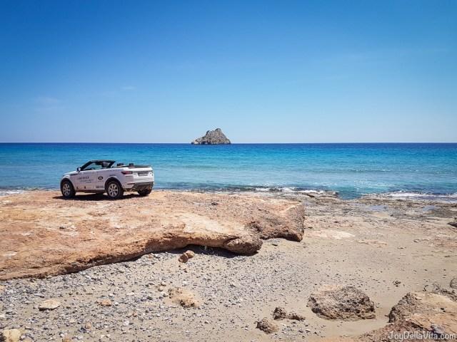 Xerokambos Beach Land Rover Experience Greece Crete wild East - JoyDellaVita.com