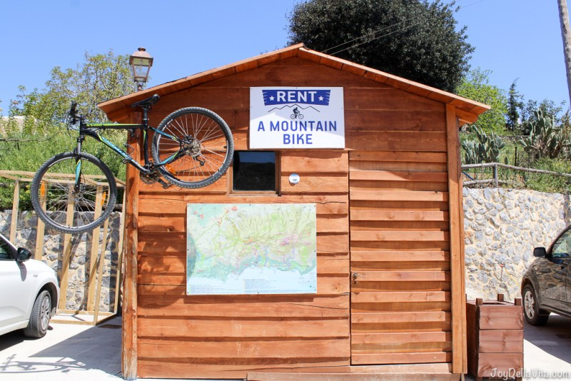 Mountain Bike Rental, Thalori Traditional Village Kapetaniana Crete - Travelblog JoyDellaVita.com