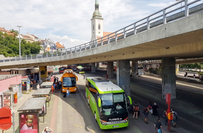 Experience: FlixBus from Vienna to Bratislava, Slovakia
