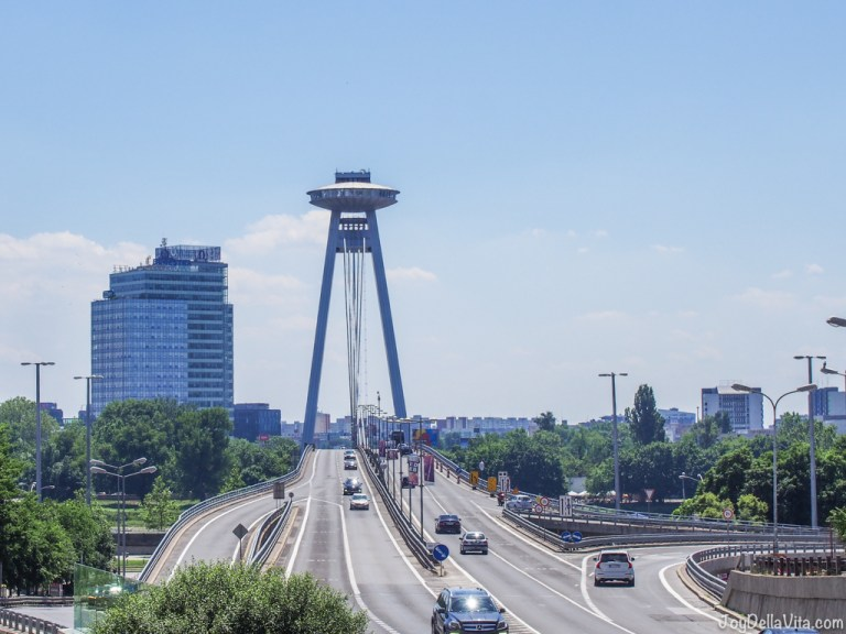 How far is Bratislava from Vienna?