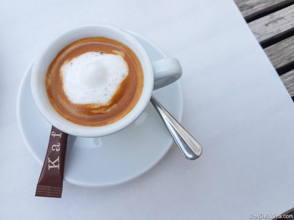 Espresso Macchiato -- Organic Restaurant Castle Wartegg Lake Constance St Gallen - JoyDellaVita.com