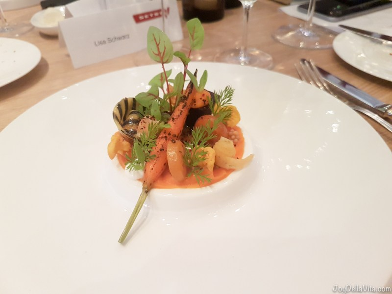 variations of carrot --  Michelin Top Air Restaurant Stuttgart Airport - JoyDellaVita.com