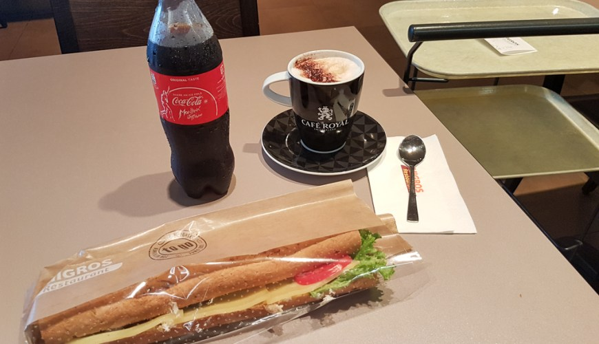Breakfast Migros Restaurant Switzerland JoyDellaVita
