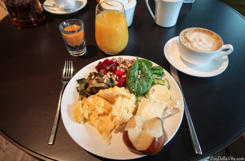 Breakfast Buffet in Baden-Baden at moriki Restaurant Roomers Hotel