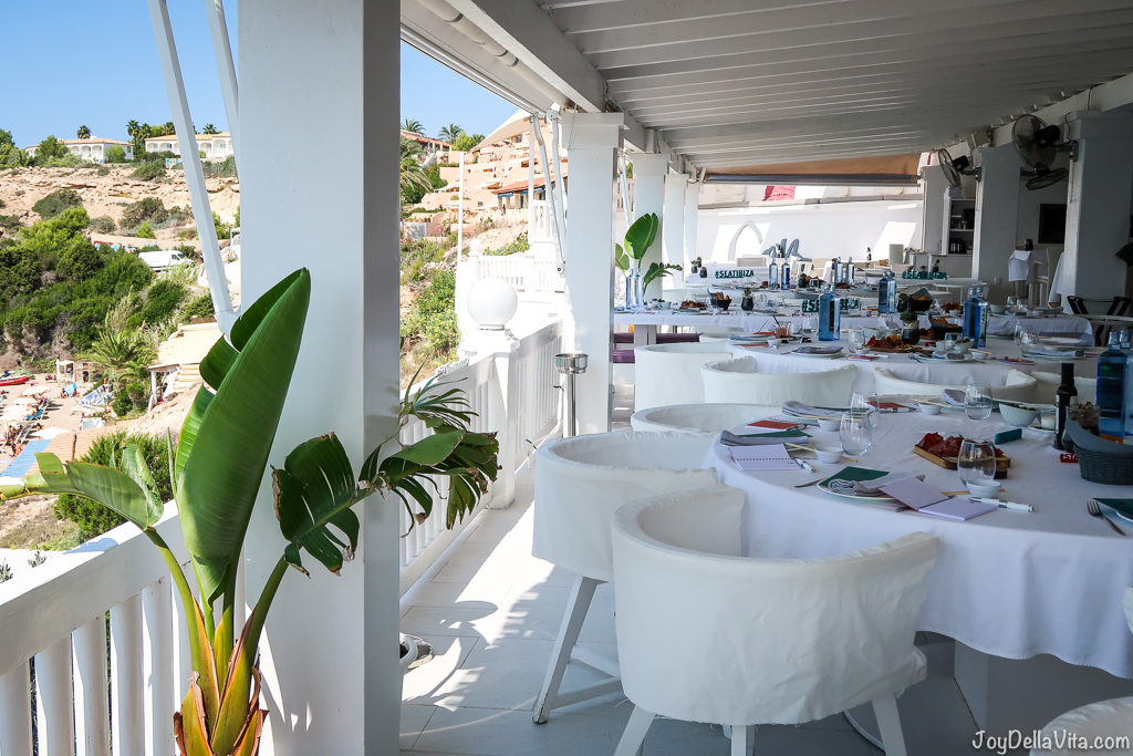 Cotton Beach Club Ibiza Restaurant Lunch Joy Della Vita Travelblog