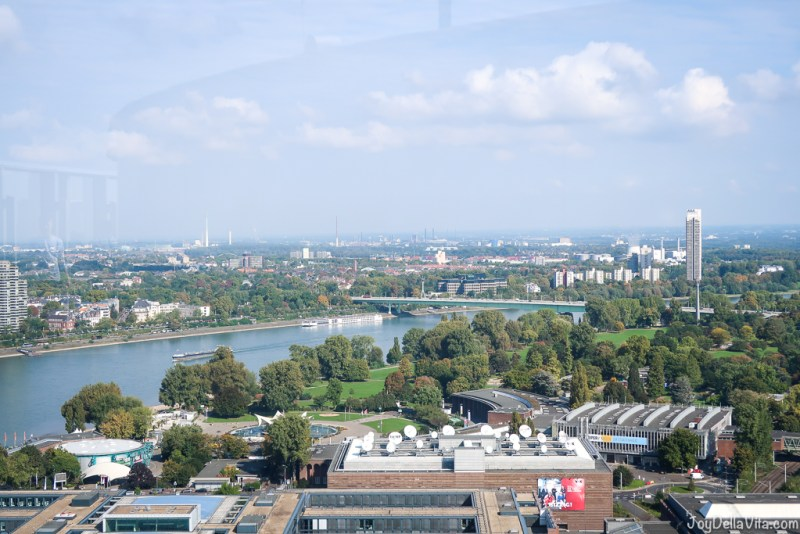 KölnTriangle panorama viewing platform Koeln Deutz ottoplatz 1 cologne travelblog