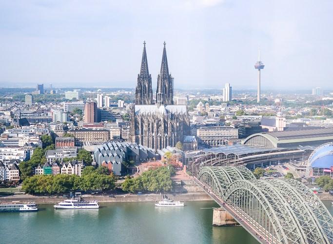 KölnTriangle panorama viewing platform Koeln Deutz ottoplatz 1 cologne travelblog