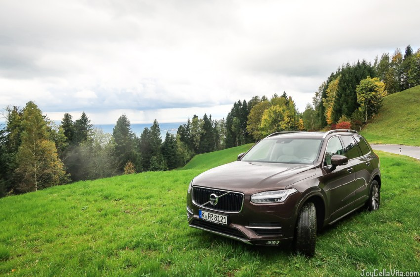 Quick Alpine adventure in Austria with a Volvo XC90