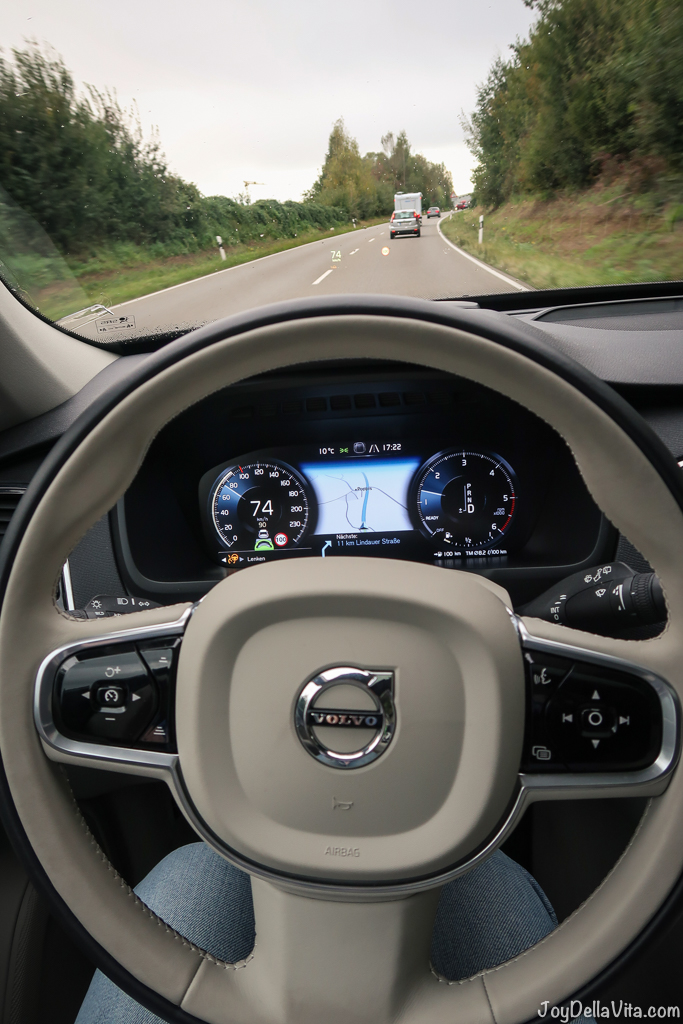 "Volvo City Pilot drives ""ALMOST"" autonomous - volvo xc90 alpine adventure travel blog joydellavita"