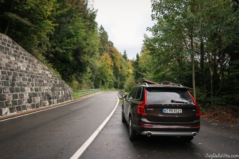 quick alpine adventure with a volvo xc90 in vorarlberg, austria
