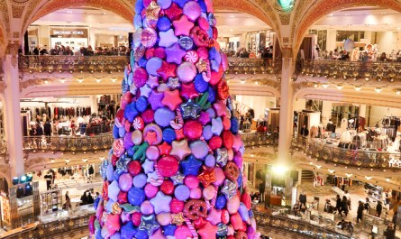 Christmas Tree Galeries Lafayette Paris Christmas 2017