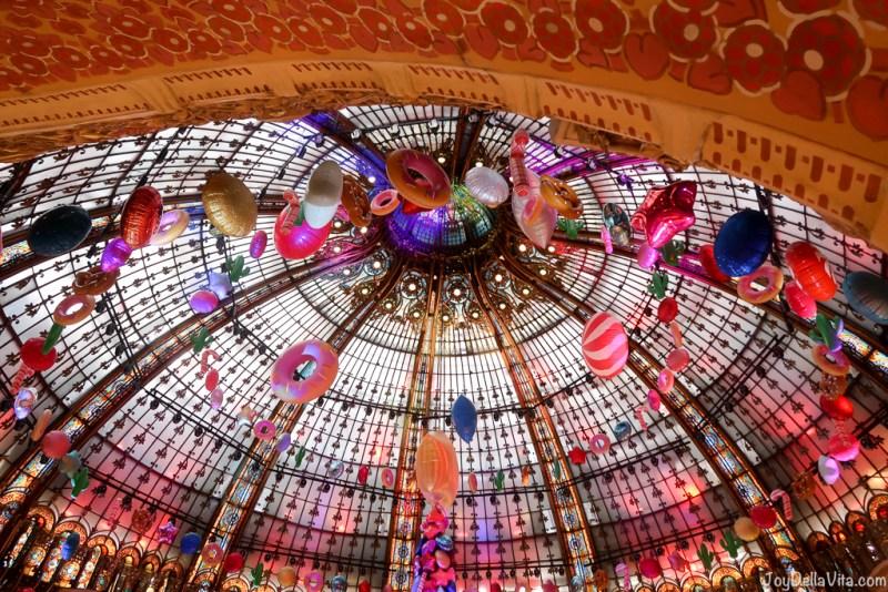 Christmas Tree Galeries Lafayette Paris Christmas 2017