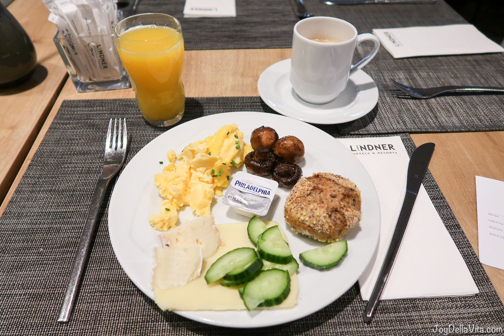 Breakfast Lindner City Plaza Hotel Cologne First Class Room Review Travel Blog