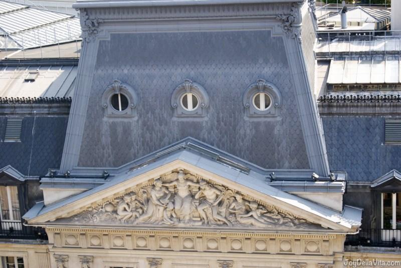 beautiful architecture in Paris Panorama Terrace Galeries Lafayette Paris 7th floor Travel Blog JoyDellaVita