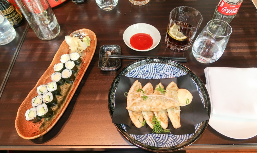 Sushi in Baden-Baden at moriki (Roomers Hotel)