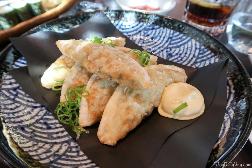 fried mandu deep fried vegetable dumplings moriki sushi baden-baden roomers hotel restaurant travel blogger joydellavita