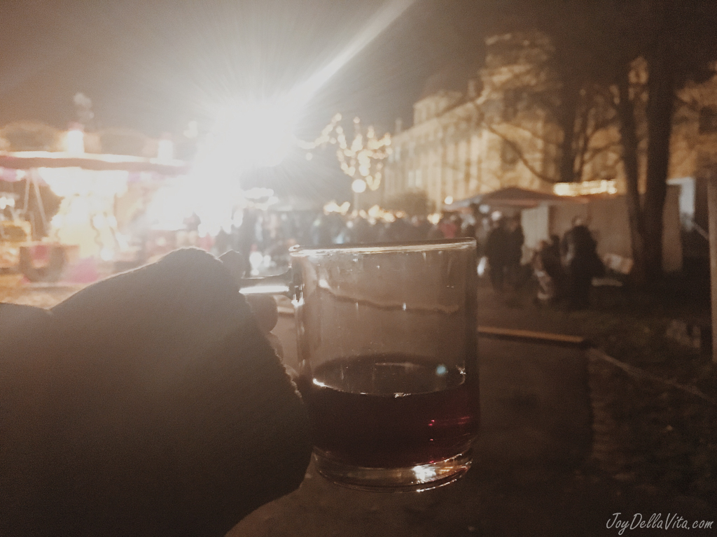 alcohol free punch at the German Christmas Market