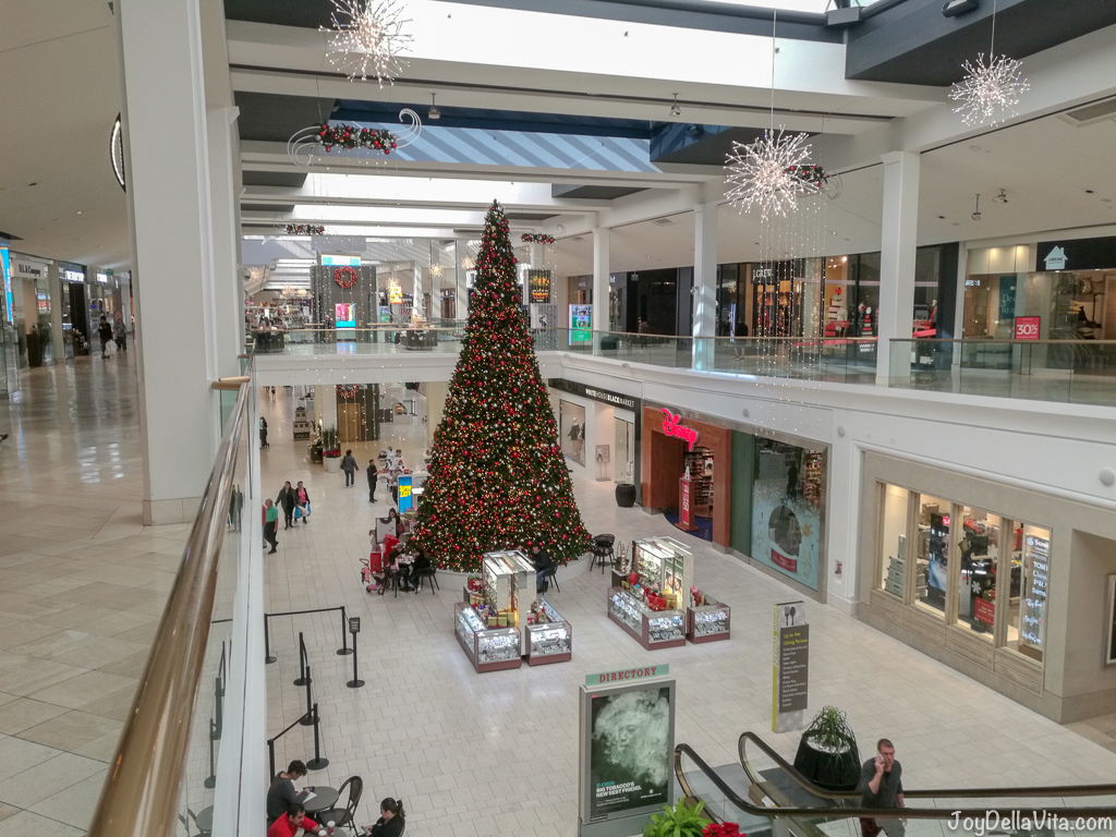 Christmas Tree at Westfield Fashion Square Sherman Oaks Los Angeles
