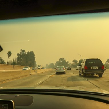 Tourist in Los Angeles during the Wildfires in California LA Fires Travel Blog Experience