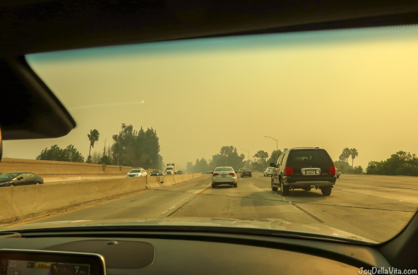 What it's like to be a Tourist in Los Angeles during the Wildfires in California