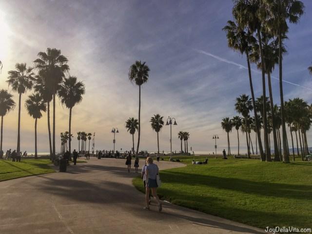 Venice Venice Beach December Walk Travel Blog Joy Della Vita