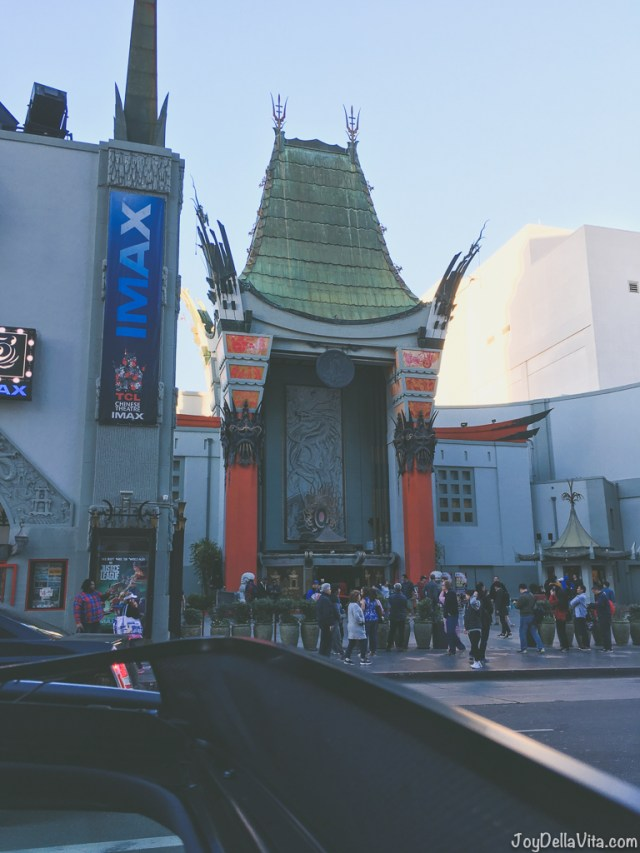 Chinese Theatre Hollywood Blvd Walk of Fame
