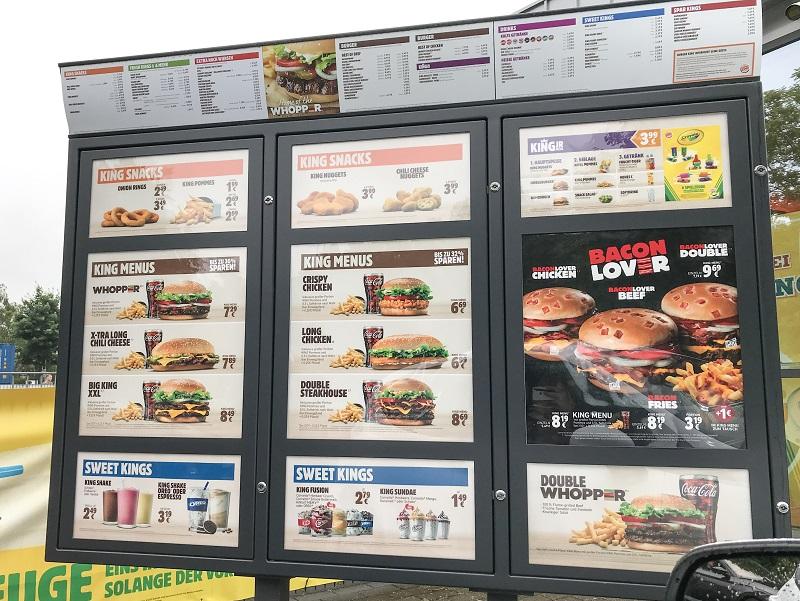 Burger King Preise Nrw