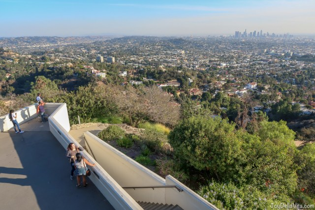 Griffith Observatory Los Angeles lookout point Travel Blog