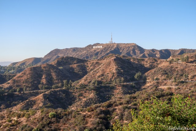 Hollywood Sign as seen from the Griffith Observatory Los Angeles