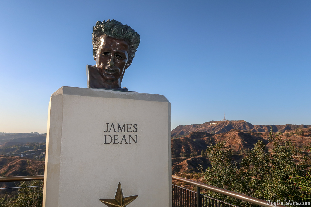 James Dean Bust Griffith Observatory Los Angeles
