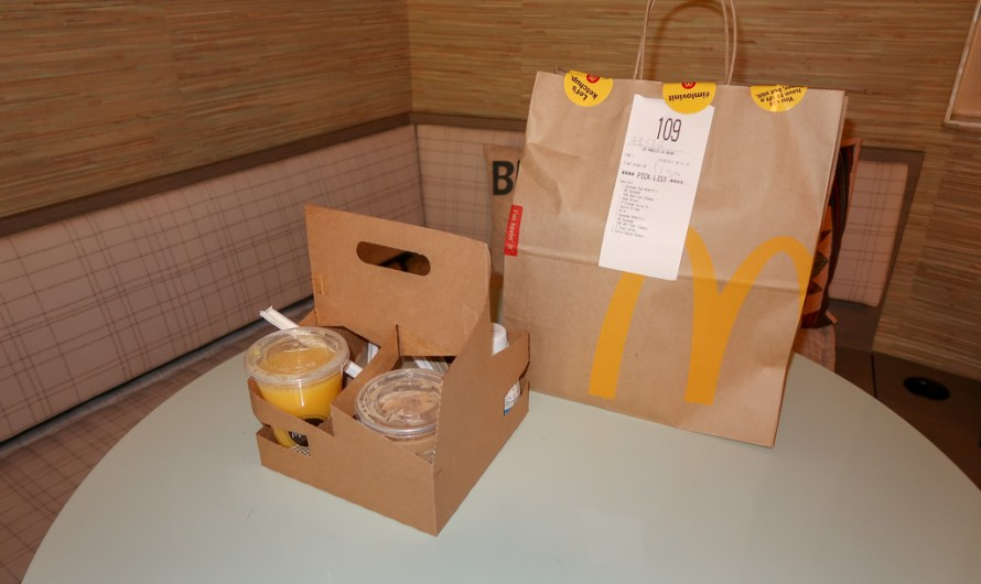 Experience of McDonald's Breakfast McDelivery in Los Angeles (USA)