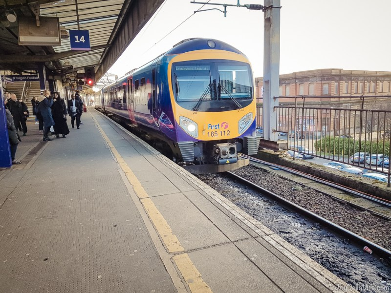Northern Line Train Manchester Liverpool