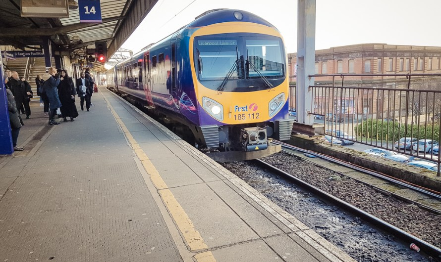 Taking a Northern Train from Manchester to Liverpool